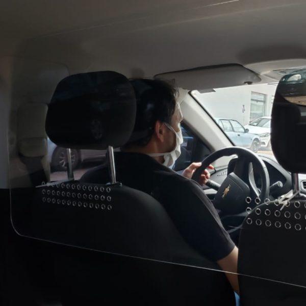 Protector acrilico para vehiculo