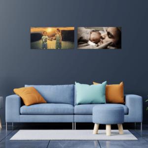 Cuadro para fotos - Diptico