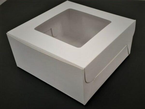 Caja cuadrada con visor