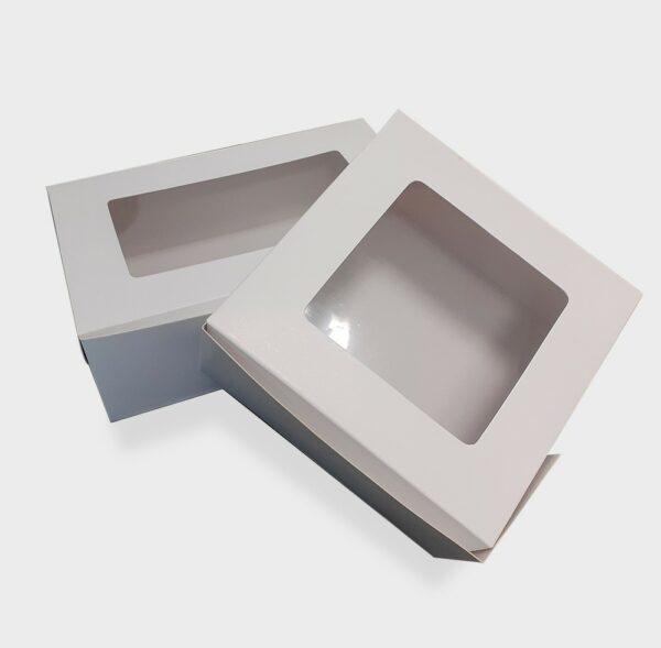 caja con visor